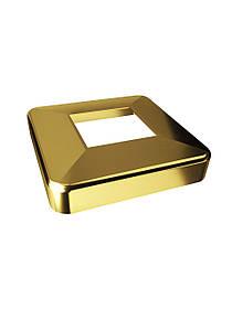 ODF-02-10-10 Декоративна кришка з нержавіючої сталі, колір золото