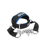 Тяга для шеи Power System Head Harness PS-4039 Black/Blue