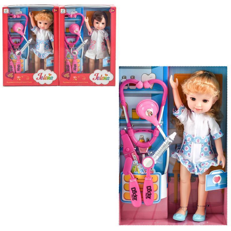 """Лялька """"Elaine"""", з набором доктора"""