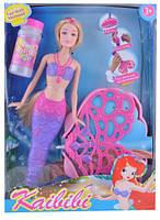 """Кукла Барби """"Русалочка"""". С мыльными пузырями BLD063"""