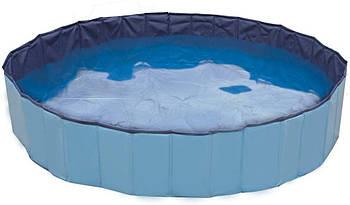 Бассейн для собак надувной виниловый Croci EXPLORER 160*30 см