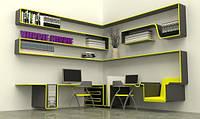 Дизайнерский набор мебели для офиса