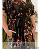 Платье №2273-черный черный/50-52, фото 4