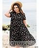 Сукня №8620-7-чорний чорний/50, фото 3
