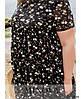 Сукня №8620-7-чорний чорний/50, фото 4