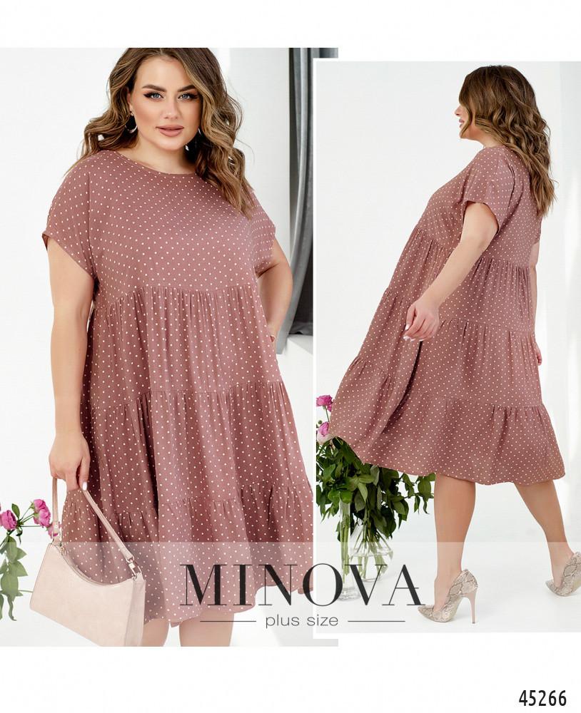 Платье №1025-фреза фреза/52-54