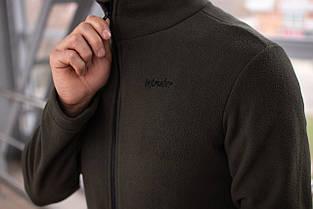 Чоловіча кофта флісова на бліскавці хакі Intruder РОЗПРОДАЖ Розмір, фото 3