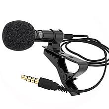 Микрофон VOXLINK 3м с прямым штекером black