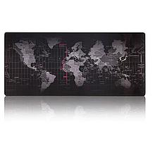 Коврик игровой для мыши. 40x90см, карта мира