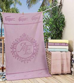 Махровое пляжное полотенце Lacoste VIP