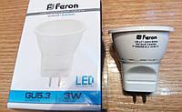 Лампа светодиодная типа MR-11 Feron LB-271 3W 6400К