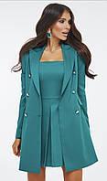Жіночий стильний костюм плаття+піджак, фото 1