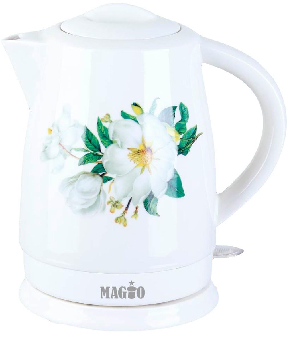 Электрочайник керамический MAGIO МG-124, 1,7 л.