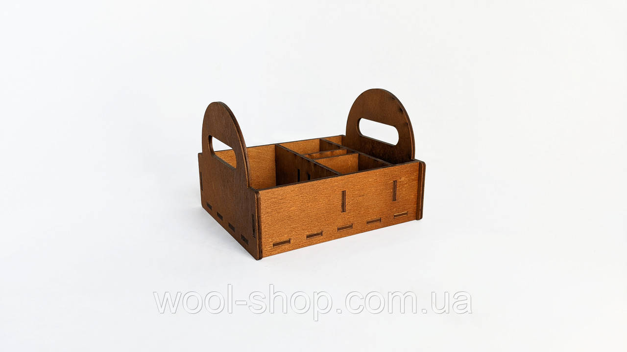 Барный органайзер деревянный 16*20*13 см