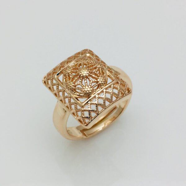 Кільце Перстень жіночий безрозмірне, 83100232 ювелірна біжутерія Fallon Jewerly