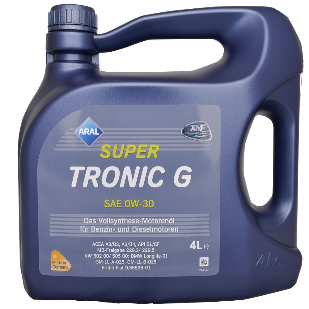 Масло моторное Aral SuperTronic G 0W-30 4л