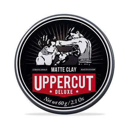 Глина Uppercut Deluxe Matte Clay 60г