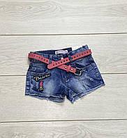Джинсові шорти для дівчаток. 4 роки