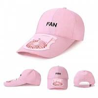Літня кашкет з вентилятором , бейсбольна кепка з вентилятором Fan
