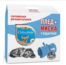 Корм Royal Canin Chihuahua Puppy 1.5 кг + плед та миска у подарунок