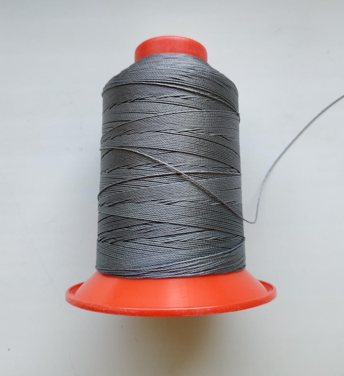 Amann Serafil №20 колір 0415 ( СІРИЙ ). 600 м.