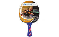 Ракетка для настольного тениса DONIC (1 шт) MT-705130-BL YOUNG CHAMPION 300 CONTROL (пластик, резина)