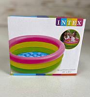 Дитячий басейн Intex Веселка 57107