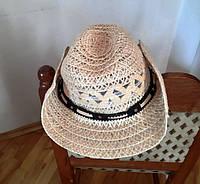Карнавальная ковбойская соломенная шляпа  б/у