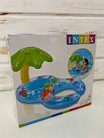 Надувний пліт Intex Острівець 56590