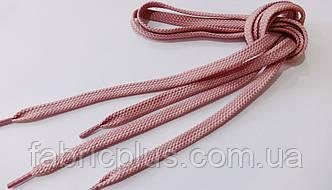 Шнурки в кроссовки плоские 100 см фреза (10 мм)