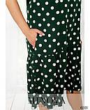 Воздушное летнее платье Софт Размер 50 52 54 56 58 60 62 64 66 68 Разные цвета, фото 4