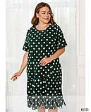 Воздушное летнее платье Софт Размер 50 52 54 56 58 60 62 64 66 68 Разные цвета, фото 5