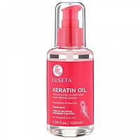 Масло для волос с кератином Luseta Keratin Oil Hair Repair Serum 100 ml
