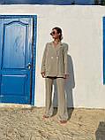 Модний Жіночий Брючний Костюм Трійка, фото 4