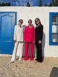 Модний Жіночий Брючний Костюм Трійка, фото 9