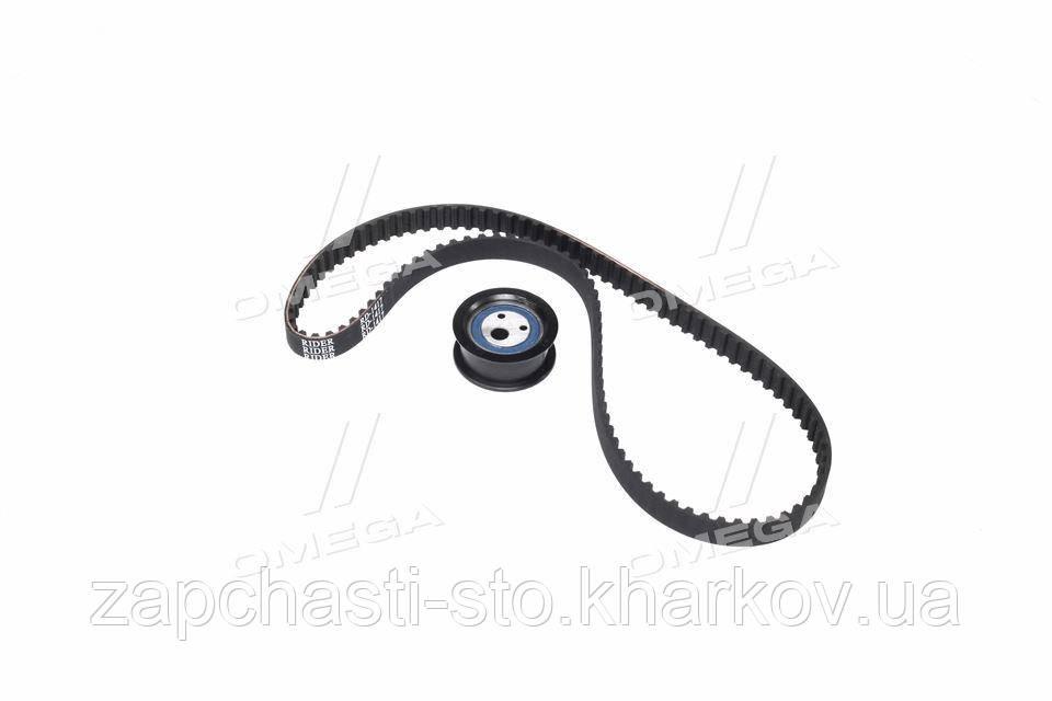 Рем комплект ГРМ ВАЗ 2108, 21099, 2110, 2115, Калина (8 клап.) (ролик и ремень) (RIDER)