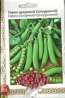 Семена горох Сахарный Суперранний Gold 20г Зеленый (Малахiт Подiлля)