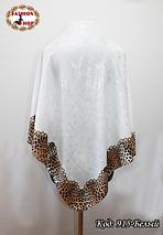 Женский белый модный платок с напылением Эрика, фото 3