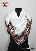 Женский белый модный платок с напылением Эрика