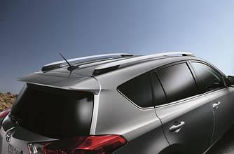 Рейлинги на крышу продольные для Toyota Rav 4 (2013-2018)