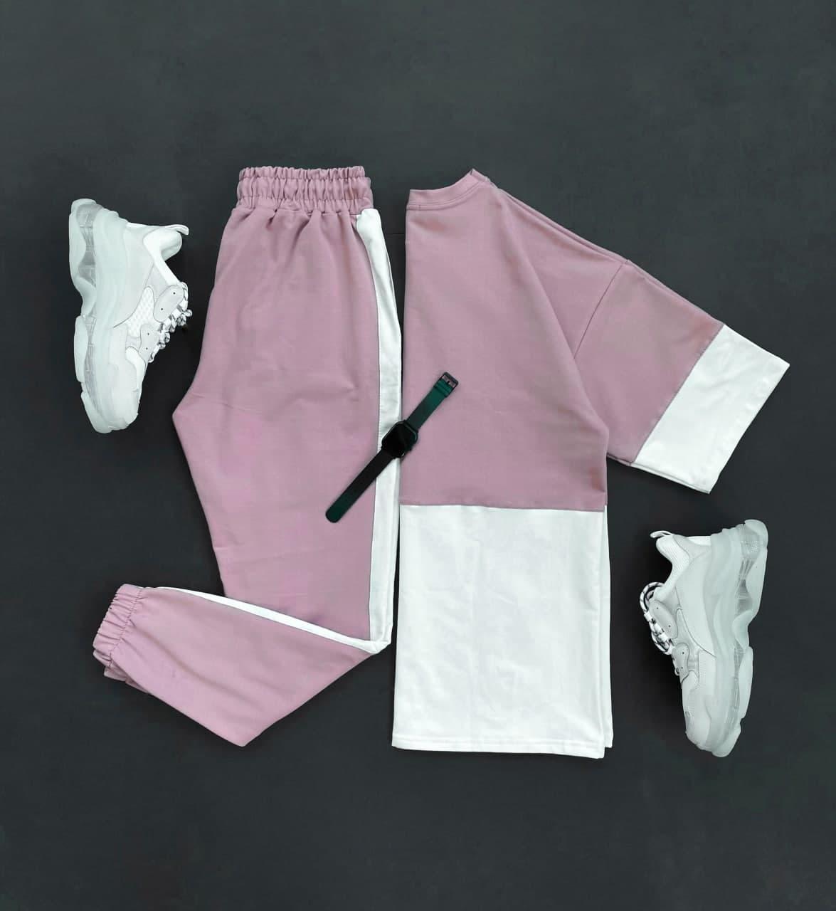 Спортивний костюм Чоловічий спортивний комплект ліловий / чоловічий комплект ліловий