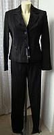 Костюм женский офисный тройка пиджак юбка брюки Kasider р.44 4803, фото 1