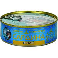 """Рыбные консервы, сардины ТМ """"Baltijas"""""""