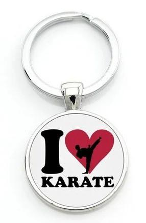 Брелок сувенірний на ключі Я люблю Карате