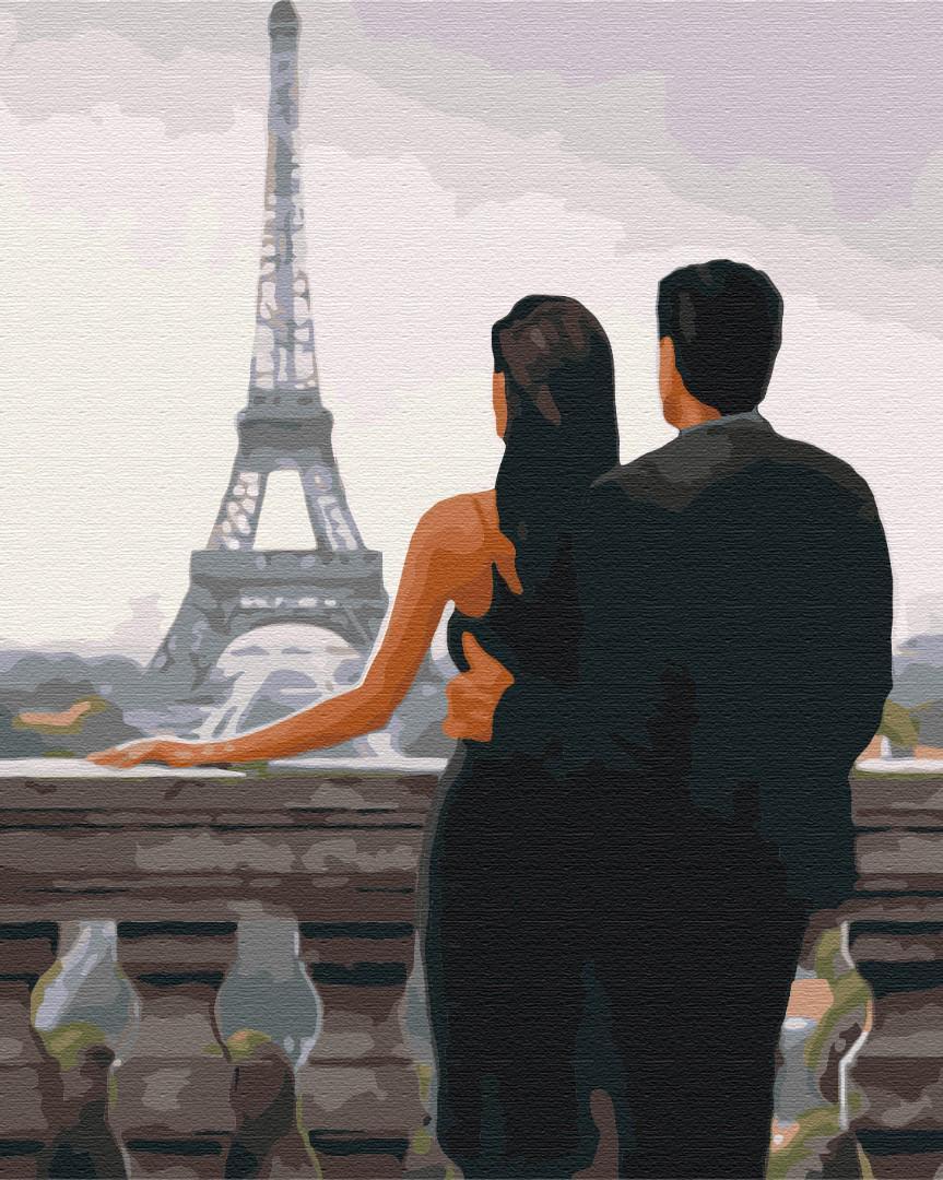 Картина по номерам рисование Brushme BS30669 Желанный Париж