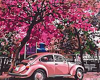 Картина по номерам рисование Brushme BS32366 Цветущая парковка