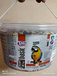 Корм для (середніх) великих папуг Lolo Рets (Лоло Петс) відро, 1,5 кг