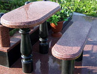Стол Каменный лавка скамейка на кладбища № 477