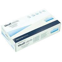 Рукавички нітрилові Mercator Medical Ideall nitrile (сині) (XS)