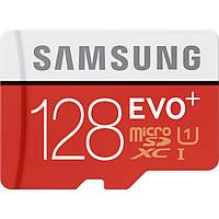 Карта памяти Samsung 128GB EVO+ UHS-I microSDXC U1 (Class 10)